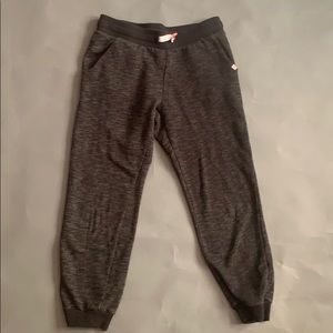 H&M charcoal joggers with drawstring waist